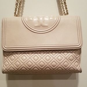 Tory Burch Quilted Fleming Convertible Crossbody